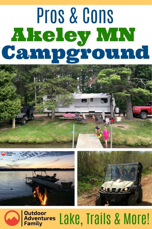 Akeley MN Campground features