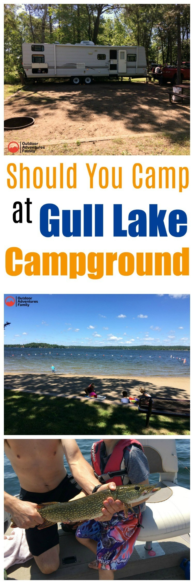 should you camp at Gull Lake campground