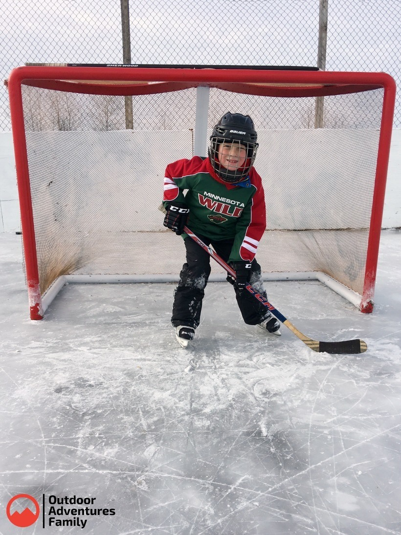 refurbished hockey net