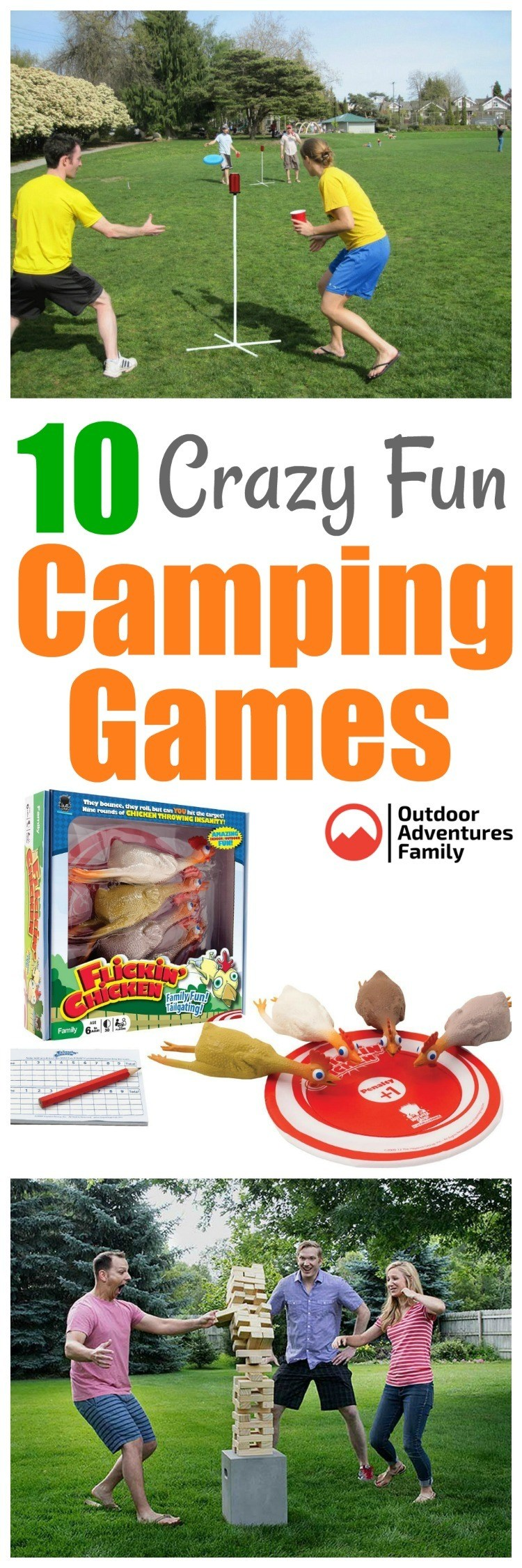 10 outdoor camping games