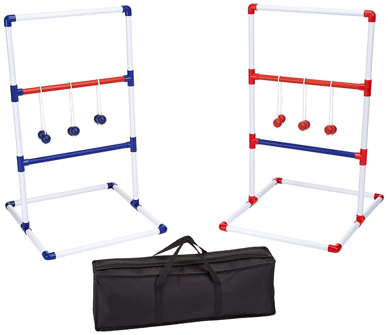 ladderball game with carrying case