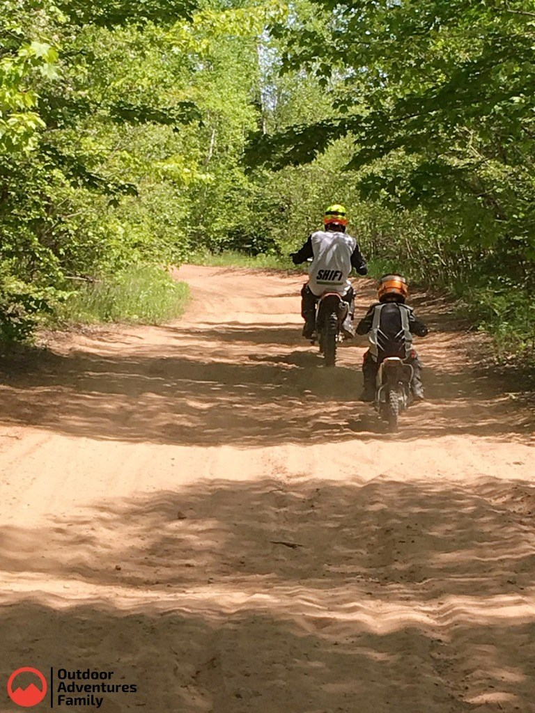 family dirtbike ride