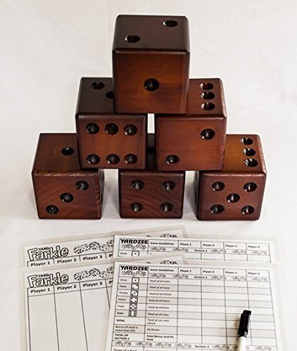 Fun Yard Dice Game