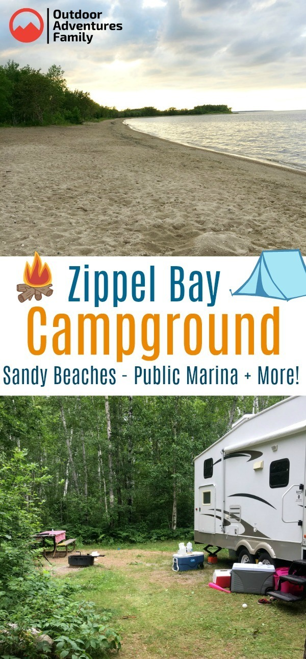 zippel bay campground overview