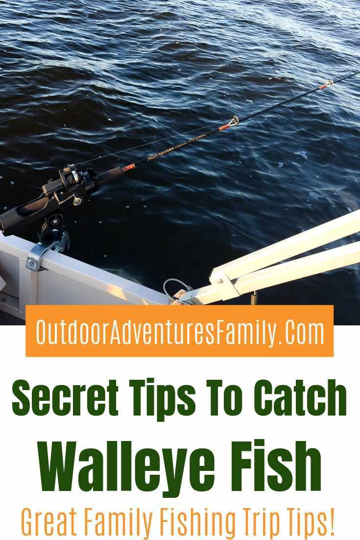tips to catch walleye